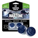 KontrolFreek Call of Duty: Warzone Performance Thumbsticks for Xbox One | 2 High-Rise, Hybrid| Blue/Gray