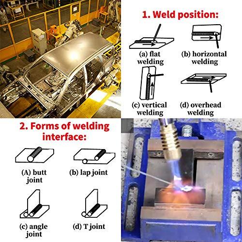 Saker Welding Rods - Flux-Cored Welding Rods|Household low temperature Aluminum Wire Brazing Rods-Aluminum Repair Rods,Repair Solder Wire Low Melt 50CM(10PCS)