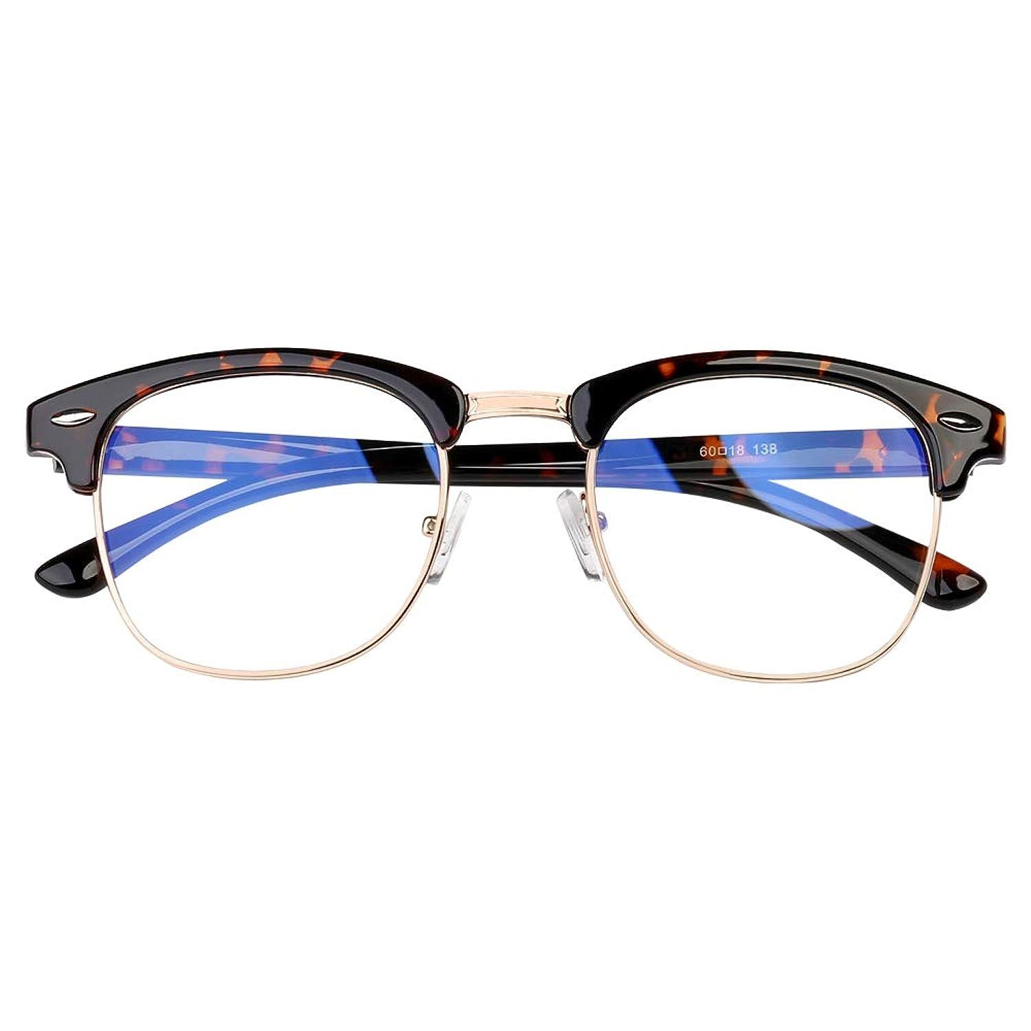 STAMEN Blue Light Blocking Glasses for Women/Men, Anti Eye Strain/UV Headache Better Sleep, Computer/Gaming Blue Blocker Filter Glasses