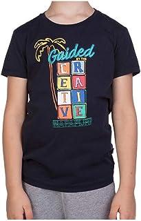 Camiseta de algodón para niño, Art. N0YIDR-176 Col. Foto Med. A Elegir
