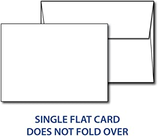 """Heavyweight Blank White 5"""" X 7"""" Cards with Envelopes - 40 Cards & Envelopes (40 Cards & Envelopes)"""