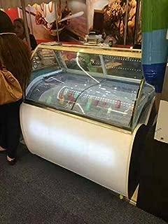Ice-Sucker Popsicle Mold Pop Machine Maker Popsicle Freezer Case Display Ice Bar 220V (Item#210034)