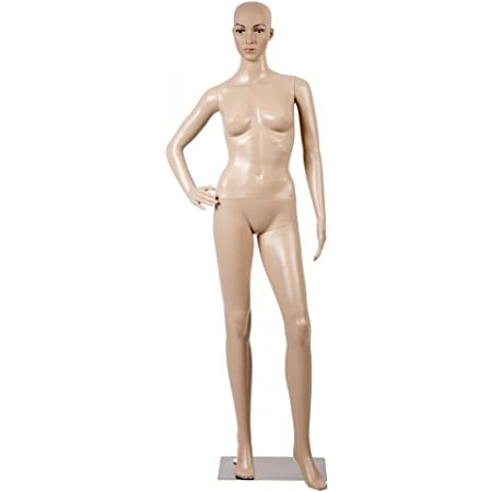 Mannequin Women Doll Stand Adult Female Full Size Head Store Display Wear Shop