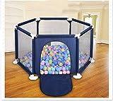 Parques for Toddle, de niños Parque infantil Parque infantil Juego infantil hexagonal compacto durable fuerte zona de juegos corral for jugar juguetes lavables Océano Ball Pool Set for bebés / recién