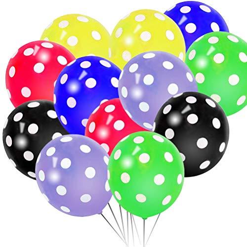 kuou 12 Pcs Polka Dot Balloons, ...