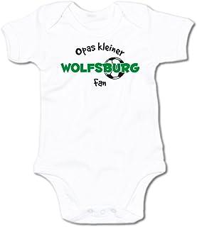 G-graphics Baby Body Opas Kleiner Wolfsburg Fan 250.0287