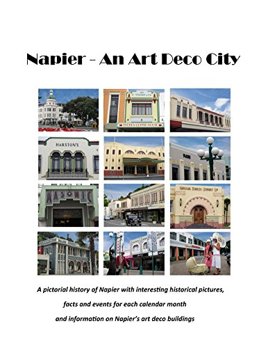 Napier - an Art Deco City (English Edition)