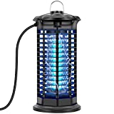 Bug Zapper, Ilana Ivan Insect Killer Fly Pest Attractant Trap Indoor and Outdoor, UV Light Electric Mosquito Zappers Killer for Backyard, Patio, Home
