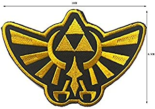 TV/Movie/Game Embroidered Patch Hyrule Logo - Legend of Zelda Series Patch (color2)