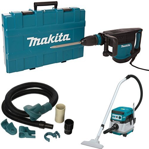For Sale! Makita HM1203C 20 lb. Demolition Hammer, accepts SDS-MAX bits, 196571-4 Dust Extraction At...
