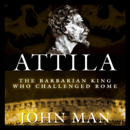 Attila audiobook cover art