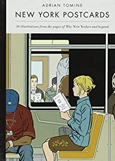 New York Postcards: 30 Illustrations from the Pages of The New Yorker and Beyond by Tomine, Adrian (2014) Paperback