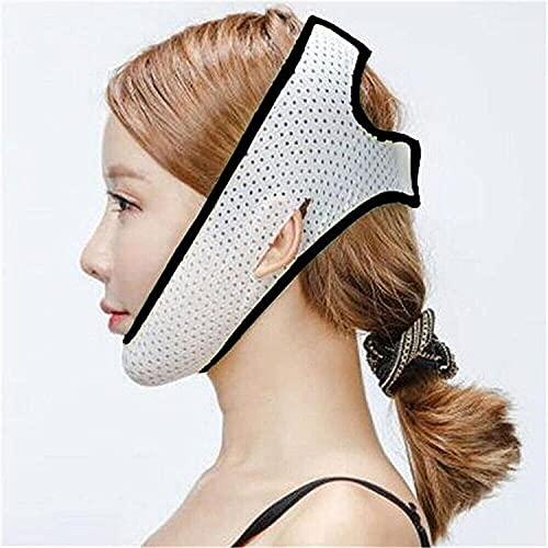 LXNQG V Facial BandageArillable Facial Adelgazamiento Vendaje mejilla Levante la Banda con la Cara Delgada Reduzca el Doble mentón Anti Arrugas Estilo (Color : Style6-black)