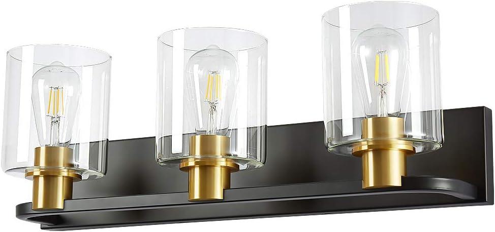Biewalk Modern Max 41% OFF 3-Light Bathroom Bargain Vanity Fixture Mirror Over Light