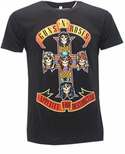 T-Shirt Originale Guns N' Roses Appetite for Destruction (M)