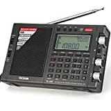 TECSUN PL-990 Radio Estéreo Portátil Sintonización Digital de Banda Completa de Alto Rendimiento Radio FM Am SW SSB con Altavoz Bluetooth MP3