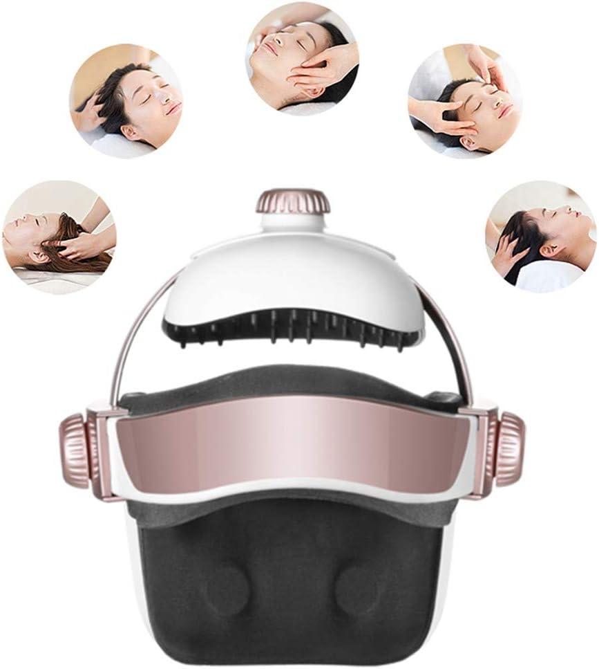 WOERD San Jose Mall Electric Head Massager Scalp Helmet Adjustable Direct store Intensity