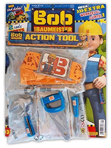 Bob der Baumeister Sammelmagazin 09/19 inkl. Action-Tool Gürtel Rätsel Comics und Poster