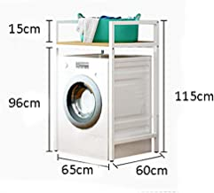 Estantes de la lavadora ZCJB Lavadora Marco Ba/ño Estante WC Estante De Ba/ño Estante De Ba/ño Estante De Bamb/ú