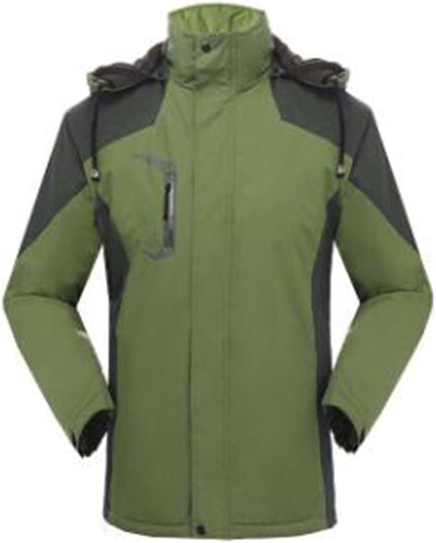 WU LAI Outdoors Jacken Herren Winddicht Wasserdichte Kaschmir Verdickung Outdoor Bekleidung Sportbekleidung
