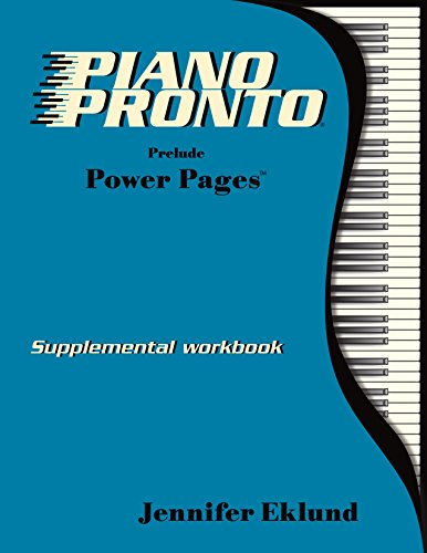 Piano Pronto - Power Pages - Prelude