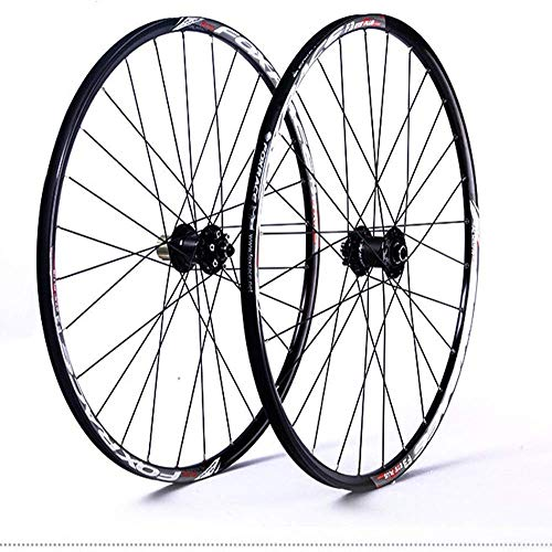 Juego de ruedas para bicicleta de montaña,26/27.5in Rueda de bicicleta de doble...