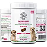 C&G Pets   CALMING SUPPLEMENTS FOR DOGS WITH CHAMOMILE 60 SOFT CHEWS   REDUCE STRESS   REDUCE SEPERATION ANXIETY   WORKS WELL IN STORM   PROMOTE RELAXATION   VETERINARIAN FORMULATED