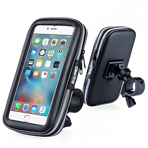Risepro - Soporte de teléfono para bicicleta, universal, im