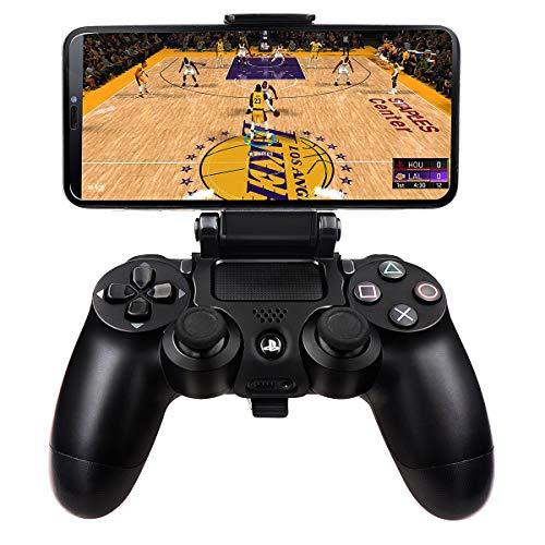 2 Stück Klapp Kontroller Clip Handyhalter Smart Phone Game Clamp für PS4 Controller