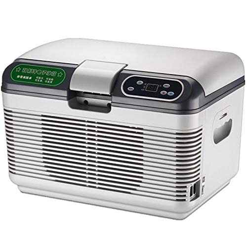 unknow Dual-Kühl Auto Kühlschrank, Auto-Haus Dual-Use-Mini-Kühlschrank, Haushaltsklein Insulin Coolbox 12 Liter