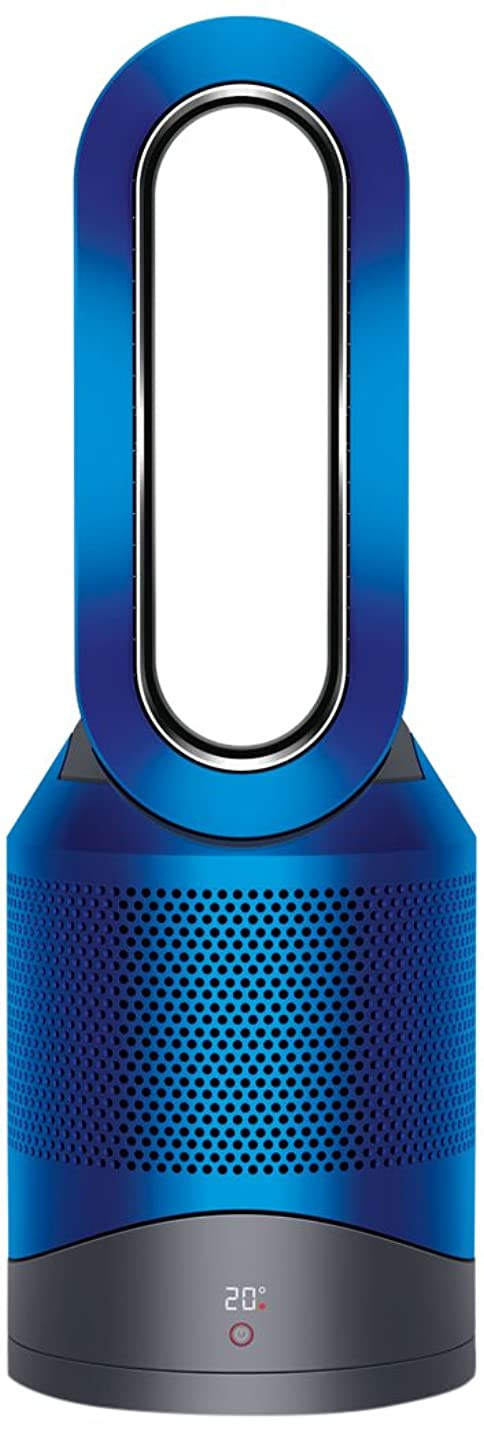 シングル分離マナーダイソン 空気清浄機能付 ヒーター dyson Pure Hot + Cool HP00IB アイアン/ブルー