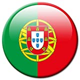 Kühlschrankmagnet Portugal Flaggen Magnet Länder Reise Souvenir Flagge für Kühlschrank stark groß 50 mm