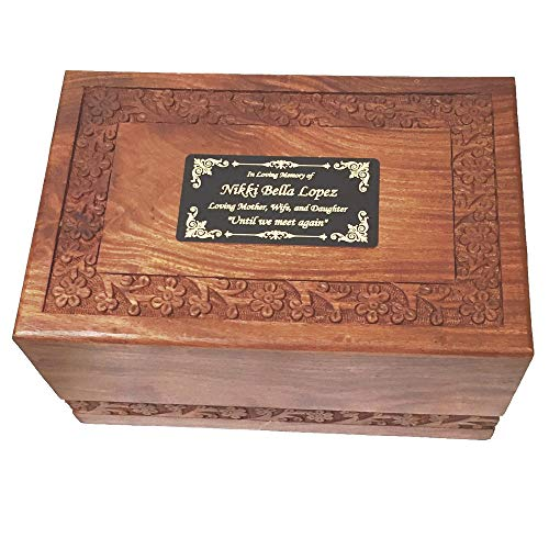 NWA Human Urn With Custom Engraving