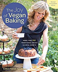 The Joy of Vegan Banking cookbook by Colleen Patrick-Goudreau