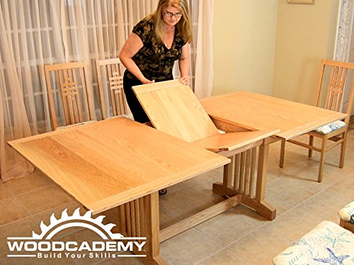 Butterfly Leaf Dining Table Pt1
