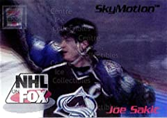 Ideal for Joe Sakic collector. Great for any Colorado Avalanche collector. Sport: Hockey This is a collectible trading card.