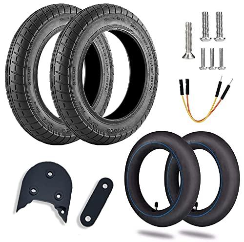 Kit Neumáticos reforzados de 10' pulgadas con cámaras de aire y espaciador 3D para Scooter Xiaomi M365/PRO (KIT WANDA)