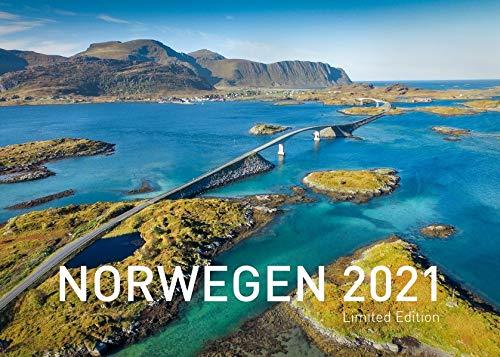 360° Norwegen Exklusivkalender 2021: Limited Edition (70 x 50 cm) (360° Exklusivkalender 2021 / Limited Edition (70 x 50 cm))