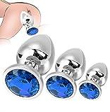 Paquete Azul De Juguete De Juego De Metal De Acero Inoxidable Con Traje De Varias Piezas Con Diamante - Linda'A Key'