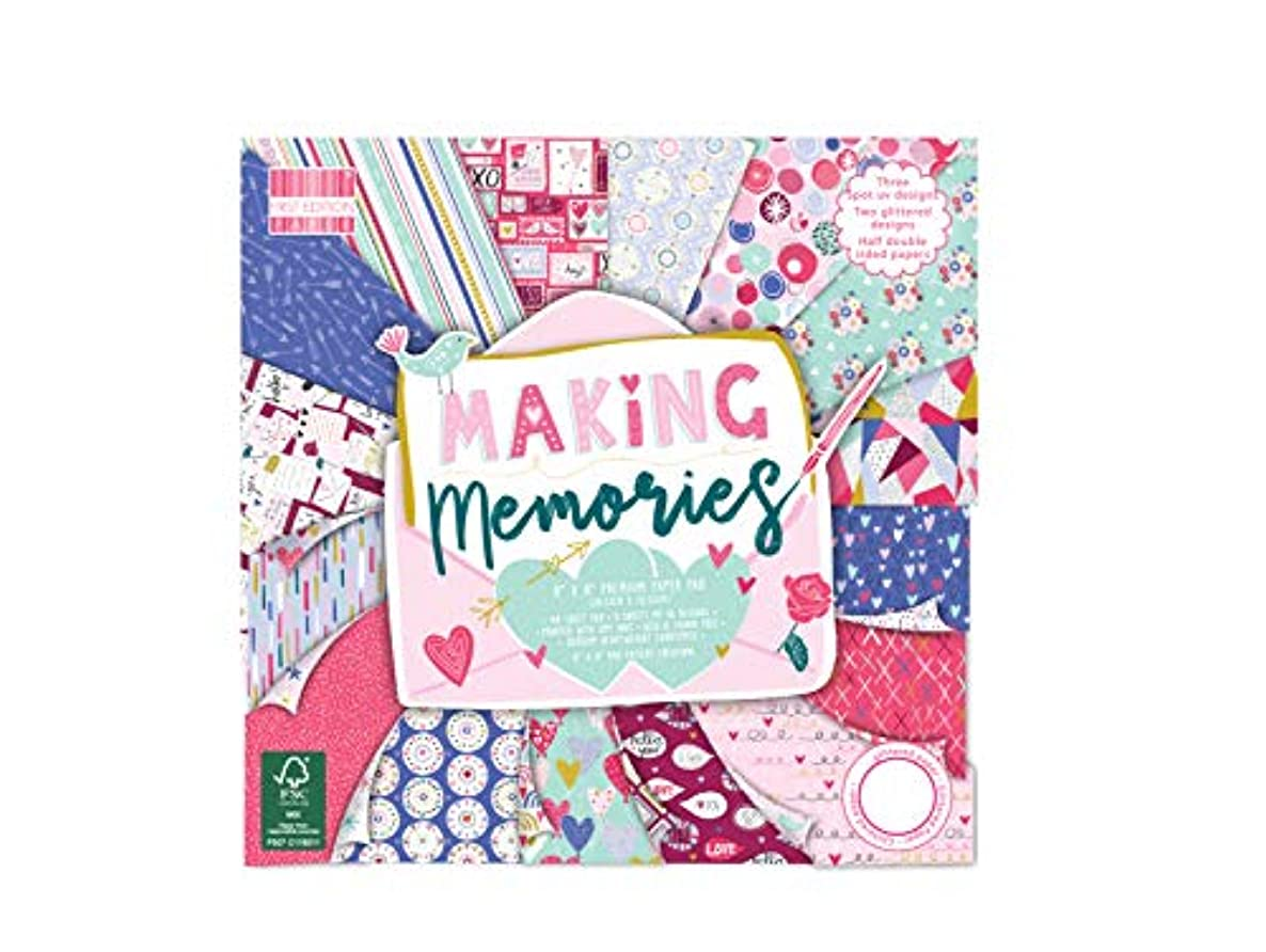 First Edition FSC 8x8 Paper Pad - Making Memories