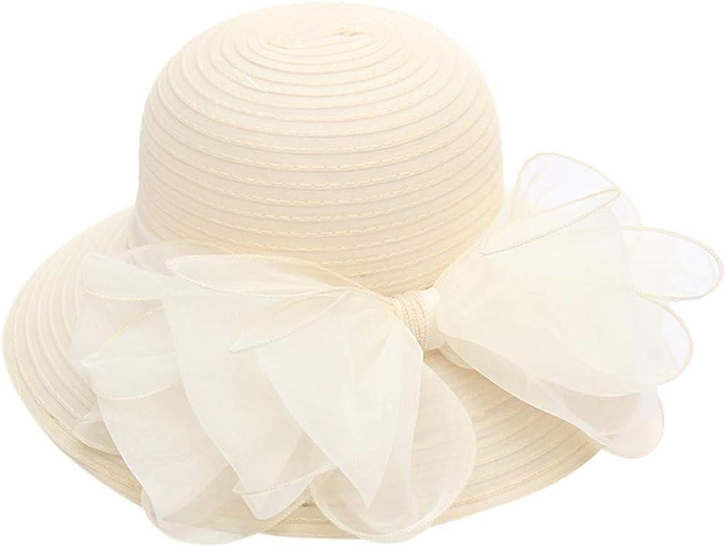 Amober Hats for Women Church Derby Dress B Trust Fascinator Seattle Mall Bridal Cap