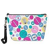 chaqlin cosmetica Borsa Viaggi Trucchi Storage Zipper Impermeabile Cosmetic Bag Shower Organizer per regalo Adorabile Medical Cartoon infermiera regalo