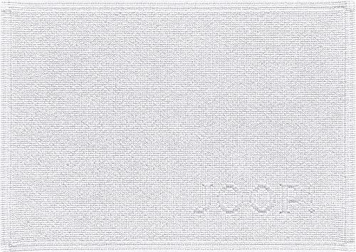 Joop! Badematte Signature Weiß - 001 50x70 cm