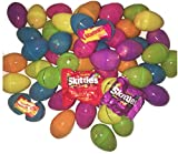 Skittles, Starburst, Candy Pre Filled Easter Eggs (25 Count) from