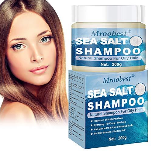 Psoriasis shampoo, Anti Dandruff Shampoo, Anti Schuppen Shampoo, Sea Salt Shampoo, für Hilfe Gegen Kopfhautjucken, Schuppenflechte und Neurodermitis - für Damen & Herren