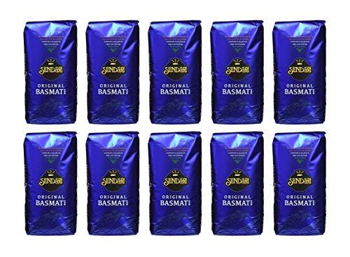 Arroz Basmati Sundari 10x1Kg (Caja 10 Paquetes)