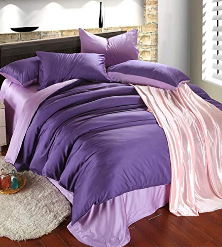 Lowest Price! HUROohj Satin Jacquard,The New Bedding Four Sets,European Style£¬Bedding Kits£¨ 4 ...