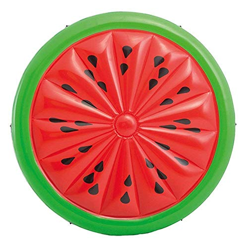 Unibos Inflatable Watermelon Pool Lounger Mat Floatie Lounge /Pool Loungers...