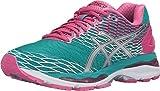 ASICS Women's Gel-Nimbus 18 running Shoe, Lapis/Silver/Sport Pink, 8 M US