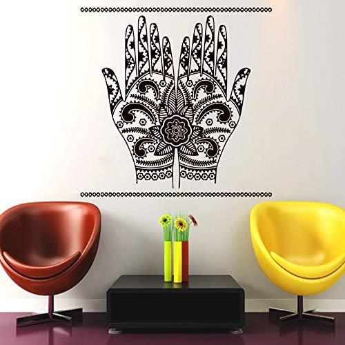 mlpnko Arab Islamic Islamic Hand Wandaufkleber Mobile Artist Home Decor Vinyl Wandtattoos,CJX12907-89x89cm
